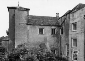 Photographs (2) of back of Lydiard House c1943