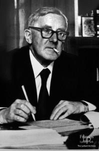 Photograph of David Murray John, Town Clerk of Swindon, c1960s