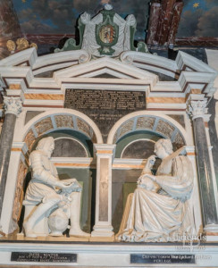 Monument to Sir Giles Mompesson and his wife Katherine (St.John), 1633