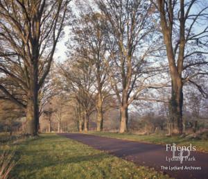 Photographs (2) of Church drive with Huntingdon Elms, Lydiard Park c1960s