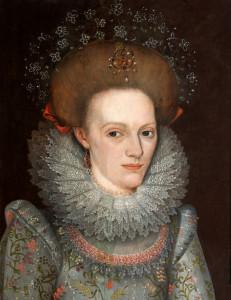 Anne Leighton (c1591-1628), First wife of Sir John St John, 1st Baronet