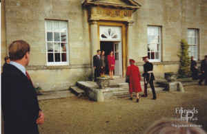 Photographs of HM Queen Elizabeth's visit to Lydiard House, 1997