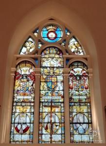 East window, St. Mary's Church, Battersea by Abraham Van Linge