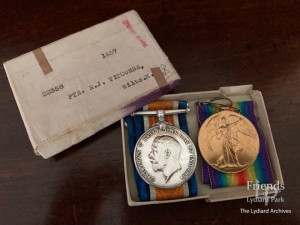Victory Medals of Ernest Titcombe,  World War I