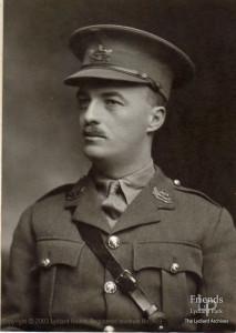 Photograph of Captain Henry Mildmay St.John, 1917