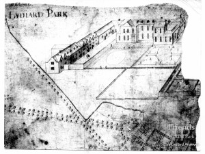 Plan of Lydiard Park, c1700