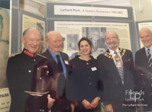 Photographs (6) of 60th Anniversary Celebration, December. 2003