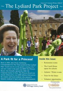 The Lydiard Park Project newsletter; Autumn/Winter 2006/7