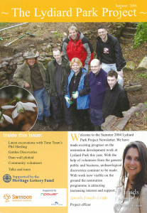 The Lydiard Park Project newsletter,  Summer 2004