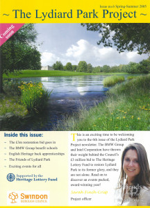 The Lydiard Park Project newsletter: Spring-Summer 2005