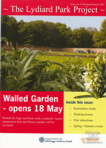 The Lydiard Park Project newsletter: Spring/Summer 2007