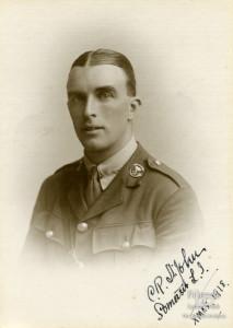 Photograph of Lieutenant Charles Reginald St. John, 1918