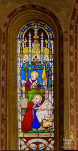 Victorian stained glass, St. Mary's Lydiard Tregoze