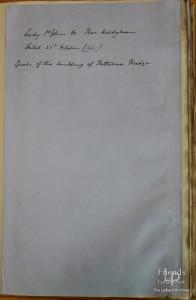 Letter from Lady Johanna St. John to Thomas Hardyman 25th October 1661