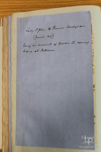 Letter from Lady Johanna St.John to Thomas Hardyman, March 1661