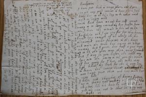 Letter from Lady Johanna St. John to Thomas Hardyman, (Feb?) 1660
