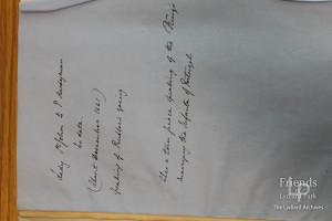 Letter from Lady Johanna St. John to Thomas Hardyman,  circa December 1661