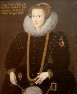 Lucy Hungerford (1560-1598), wife of Sir John St John, Knight