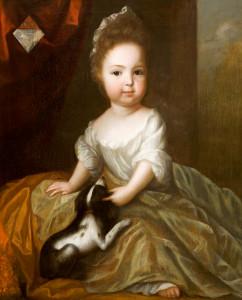 Henrietta St John (1699-1756), Aged 2 years, (later Lady Luxborough)