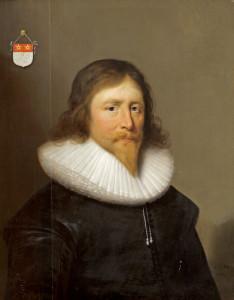 Sir John St John (1585-1648), 1st baronet by Cornelius Johnson