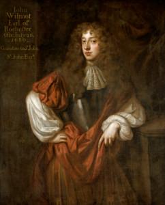 John Wilmot (1647-1680), 2nd Earl of Rochester, grandson of Sir John St John 1st Baronet