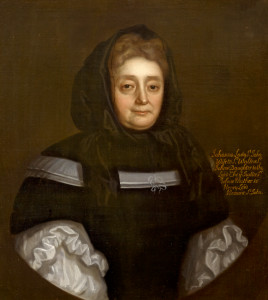 Johanna St John (1631-1705), c.1690, wife of Sir Walter St John, 3rd Baronet, English School