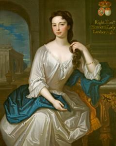 Henrietta St John (1699-1756), Lady Luxborough, attributed to Maria Verelst, c1720