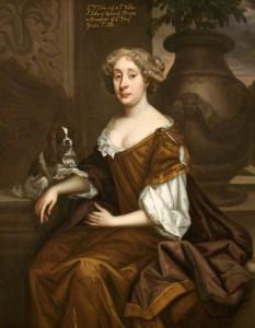 Johanna St John (1631-1705), wife of Sir Walter St John, 3rd Bt. by Godfrey Kneller