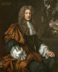 Sir Walter St John (1622-1708), 3rd Bt by Godfrey Kneller, c1650