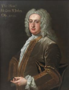 The Hon. Holles St.John (1710-1738) attributed to John Vanderbank